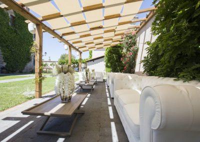 Giardino e Corte Interna di Casale 500 Location per Matrimoni ed Eventi