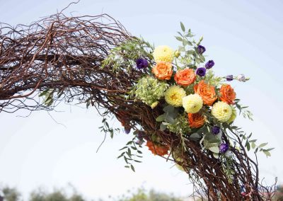 addobbi floreali cerimonia matrimonio Casale 500