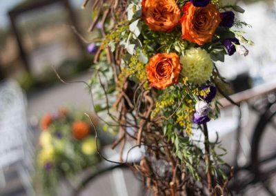 addobbi floreali giardino matrimonio Casale 500