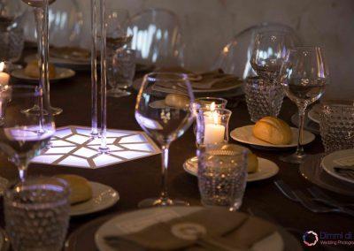 apparecchiatura tavoli cerimonie Casale 500
