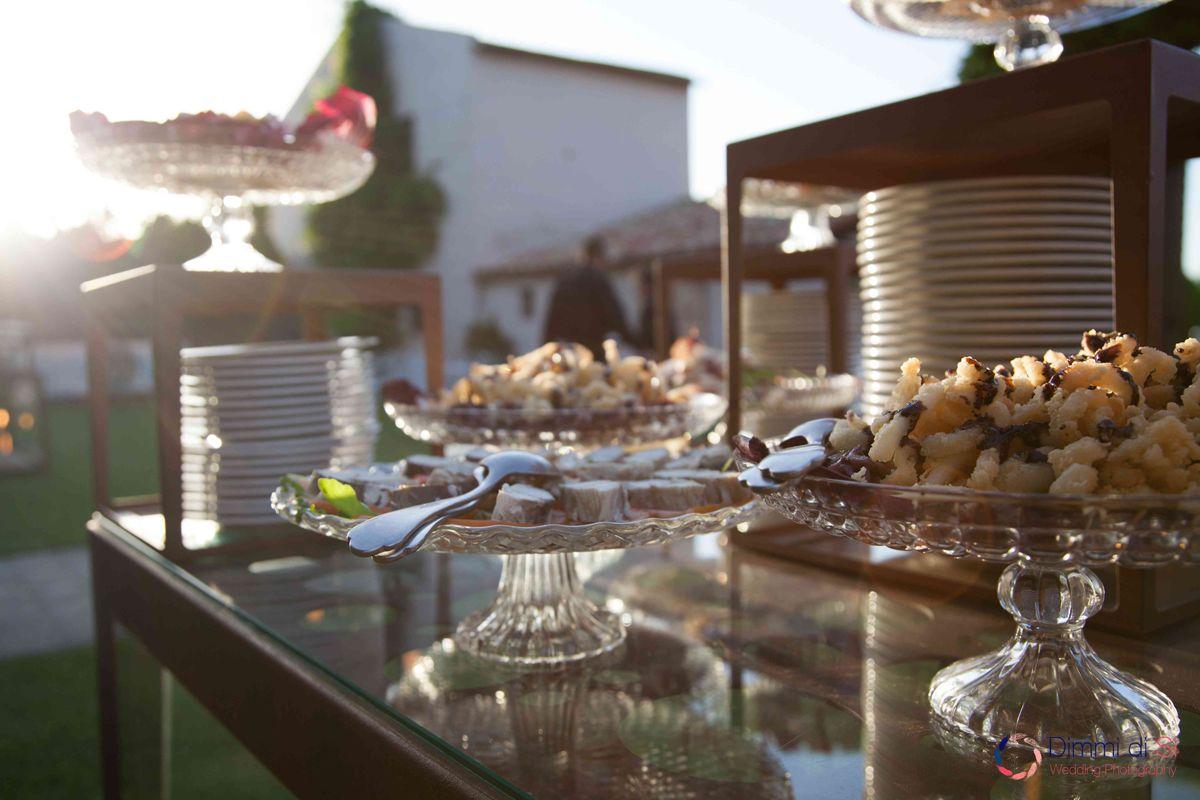 buffet cena Casale 500