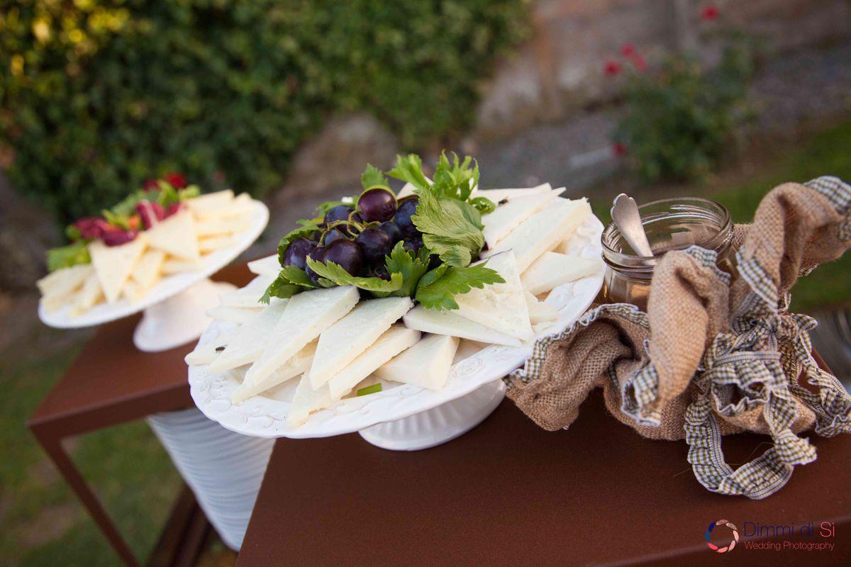buffet formaggi Casale 500