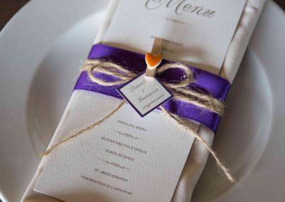 decorazioni apparecchiatura matrimonio Casale 500