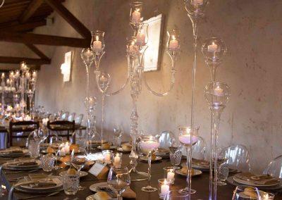 decorazioni tavolo matrimonio Casale 500