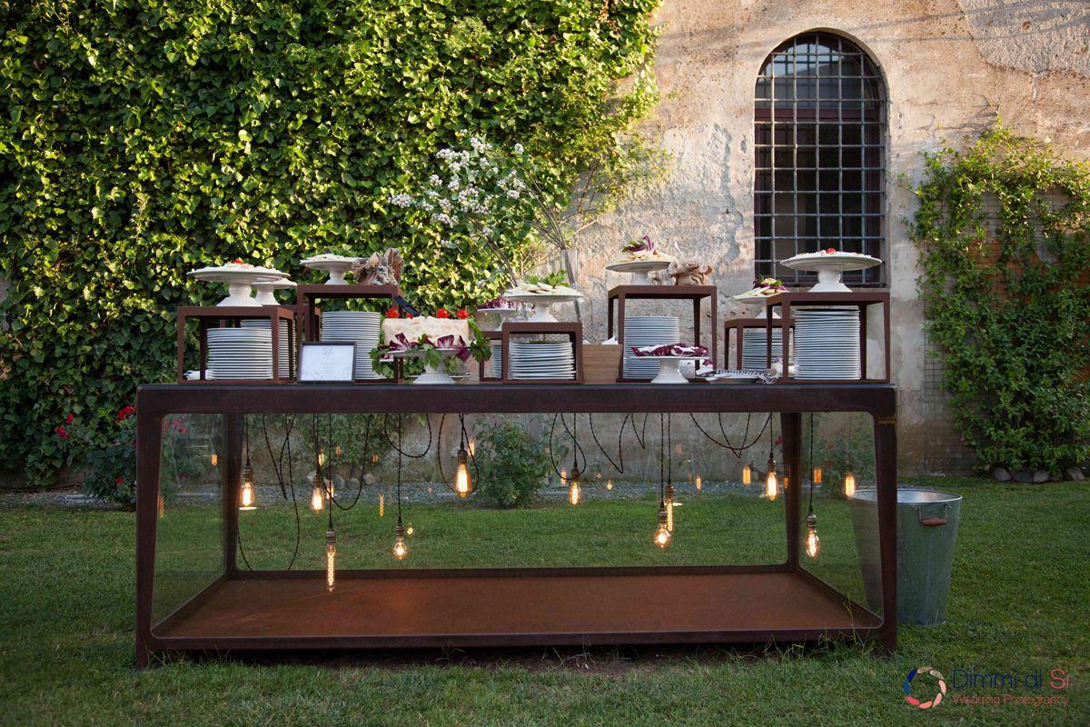 piatti buffet giardino Casale 500