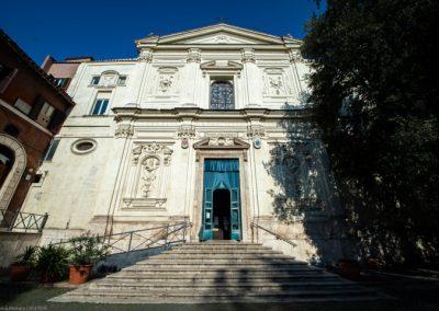 Basilica Santi Silvestro e Martino ai Monti esterno chiese matrimoni roma