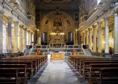 Basilica Santi Silvestro e Martino ai Monti interno chiese matrimoni roma