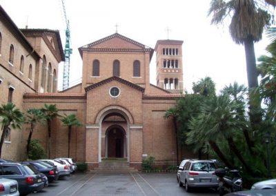San Alselmo Aventino fronte
