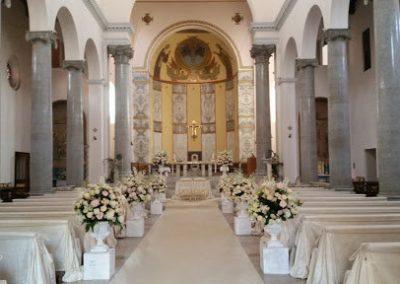San Alselmo Aventino interno chiesa matrimonio roma