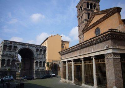 San Giorgio in Velabro esterno