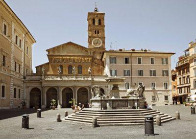 Santa Maria in Trastevere esterno chiese matrimoni roma