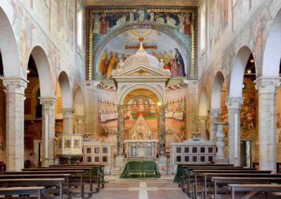 Santi Nereo e Achilleo Chiese Matrimoni Roma interni