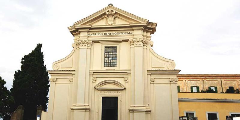 santuario santa maria di galloro ariccia