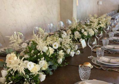 emozioni floreali tavolo imperiale