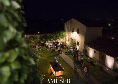 giardino casale 500 notte