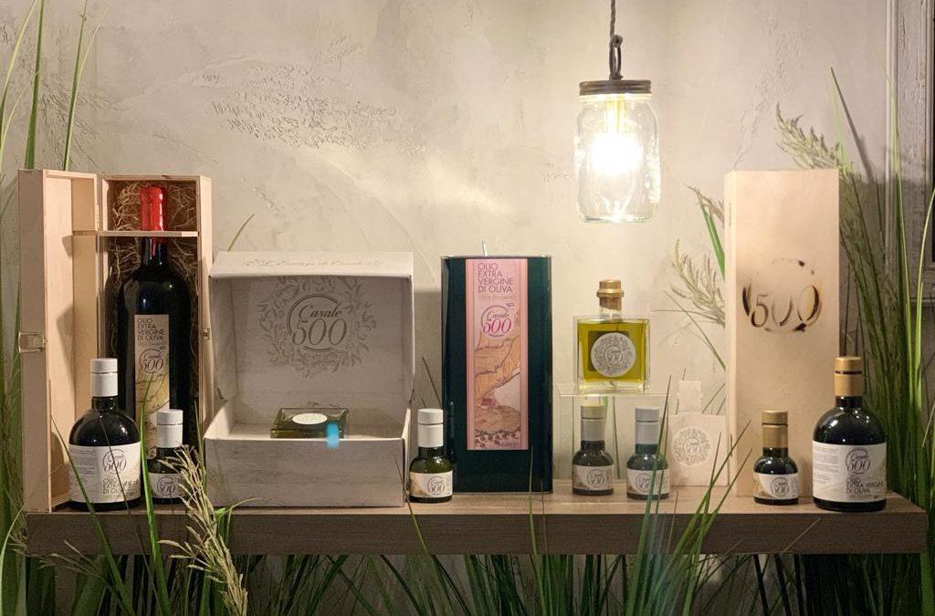 Vendita Olio extravergine di Oliva Italiano Casale 500 formati disponibili