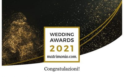 Matrimonio.com premio Wedding Awards 2021